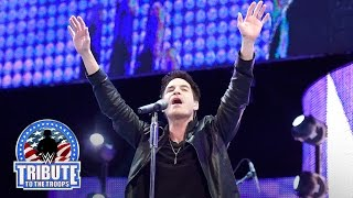 Train performs for the troops in Jacksonville: WWE Tribute to the Troops 2015