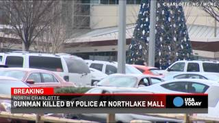 Armed person shot dead after altercation at Charlotte mall