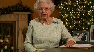 Queen's Message Stresses Light Against the Dark