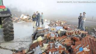 Tornado survivor: 'It must have taken me with it'