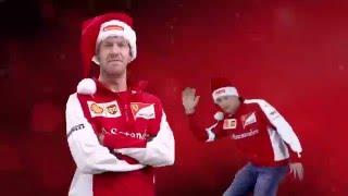 Santander F1 - Happy Holidays - Vettel