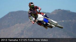 Yamaha YZ125 First Ride