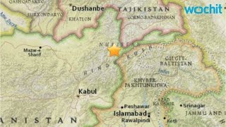 6.2-magnitude Earthquake Hits North-east Afghanistan and Pakistan