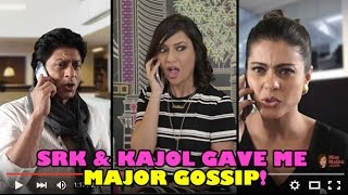 EXCLUSIVE: Shah Rukh Khan & Kajol Call MissMalini With Juicy Gossip!