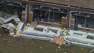 Aerials Show Texas Tornado Damage