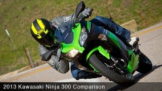 Kawasaki Ninja 300 Comparison Review