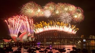 Sydney New Year Fireworks