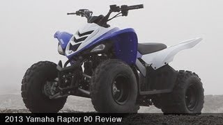 Kids ATV Shootout - Yamaha Raptor 90