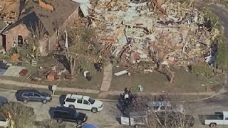 Texas Officials Tour Tornado Damage