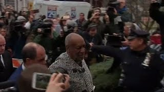 Bill Cosby Arrives for Arraignment