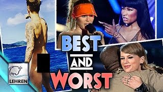 Justin's BUTT, Nicki Vs Miley, Taylor & Kanye Hug | Best & Worst Moments Of 2015