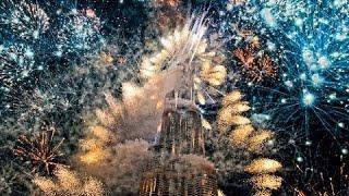 NEW YORK USA 2016 FIREWORKS NEW YEARS CELEBRATION AMAZING HD