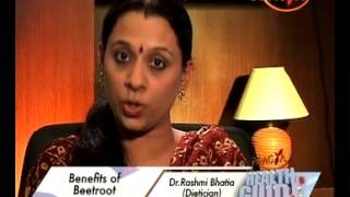 Benefits of Beetroot - Health Benefits - Health Tips By Dr. Rashmi Bhatia (Dietitian)