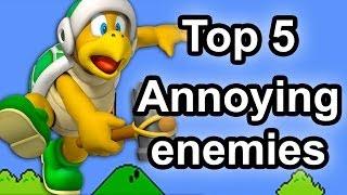 Top 5 - Annoying Enemies in Gaming