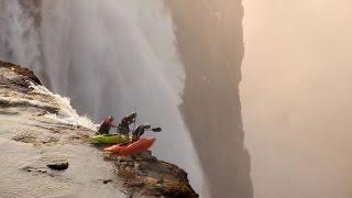 Kayaking Through The Most Dangerous Waterfalls