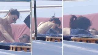Kendall Jenner And Harry Styles Kissing & Making Out On Yacht!