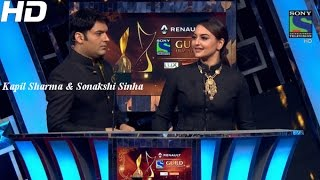 Kapil Sharma and Sonakshi Sinha's Ishqholic Moment - II - Guild Film Awards