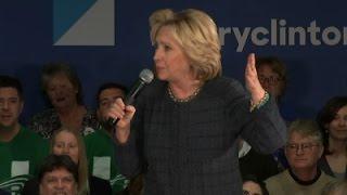 Clinton Praises Obama's Executive Action On Guns