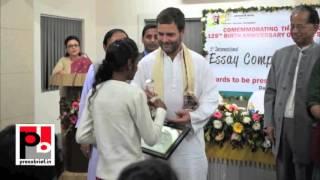 Rahul Gandhi in Guwahati interacts with people