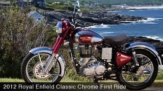 First Ride: Royal Enfield Classic Chrome