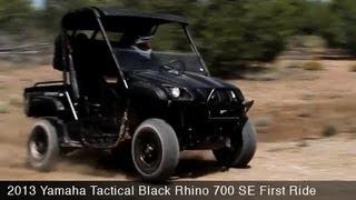 Yamaha Rhino 700SE First Ride