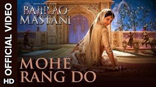 Mohe Rang Do Laal (Official Video Song) | Bajirao Mastani | Ranveer Singh, Deepika Padukone