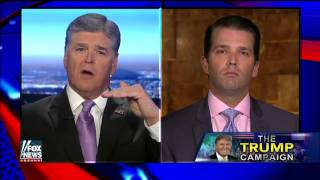 Trump Jr.: My father is saying things that need to be said