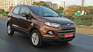 New 2016 Ford EcoSport Facelift India Review