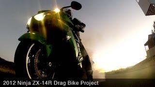 Kawasaki Ninja ZX-14R Drag Bike