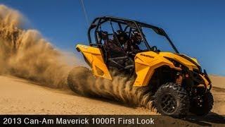 First Look: Can - Am Maverick 1000R
