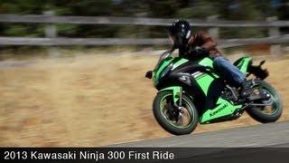 First Ride: Kawasaki Ninja 300