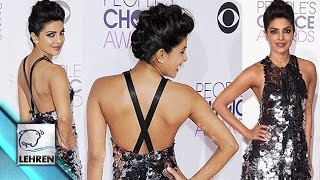 Quantico's Priyanka Chopra Flashes MASSIVE Back | Peoples' Choice Awards 2016