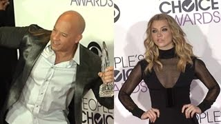 2016 People's Choice Awards Red Carpet- Vin Diesel, Natalie Dormer And More