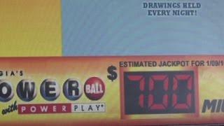 Powerball Jackpot Climbs to Estimated $700M
