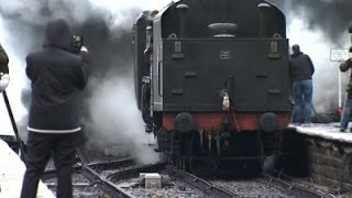 Historic Steam Engine Roars Back to Life