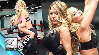 Martha Hunt & Elsa Hosk Hot Workout Photoshoot | Victorias Secret Photoshoot
