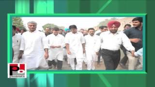 In Punjab, Rahul Gandhi holds Padayatra, targets BJP, Modi