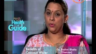 Health Guide - Coconut Water Nutrition Facts And Health Benefits - Dr. Rashmi Bhatia (Dietitian)