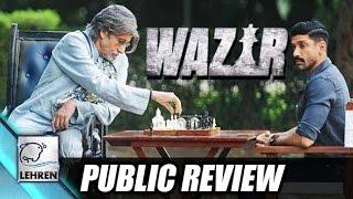 Wazir PUBLIC REVIEW | Amitabh Bachchan | Farhan Akhtar | Aditi Rao Hydari