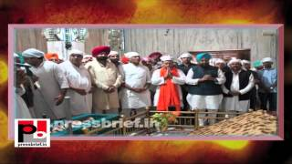 Rahul Gandhi visits Gurudwara Sahib in Punjab