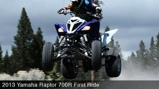 First Ride: Yamaha Raptor 700R