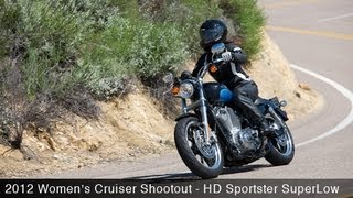 Women's Cruiser Shootout: Harley-Davidson Sportster SuperLow