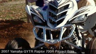 Project Bike: Yamaha GYTR Raptor 700R