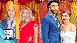 Bollywood Celebs To Get Married In 2016 | Ranveer Singh | Deepika Padukone