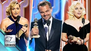 'Golden Globe Awards 2016'- WINNERS List REVEALED!! | Leonardo DiCaprio, Lady Gaga