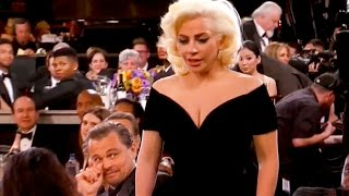 Leonardo Dicaprio SHADES Lady Gaga at Golden Globes 2016?!