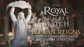 WWE ROYAL RUMBLE 2016, JANUARY 24 LIVE ON WWE NETWORK