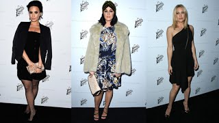 Demi Lovato, Katy Perry And More Celebs At Stella McCartney Autumn Collection