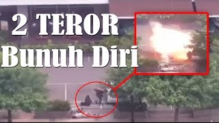 Pray For Jakarta: Video Detik-Detik Pelaku Teror bom Sarinah Thamrin Jakarta Meledakkan Diri