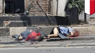 Jakarta Suicide Bombing: Graphic Video shows Explosions, Casualties in Jakarta Attacks